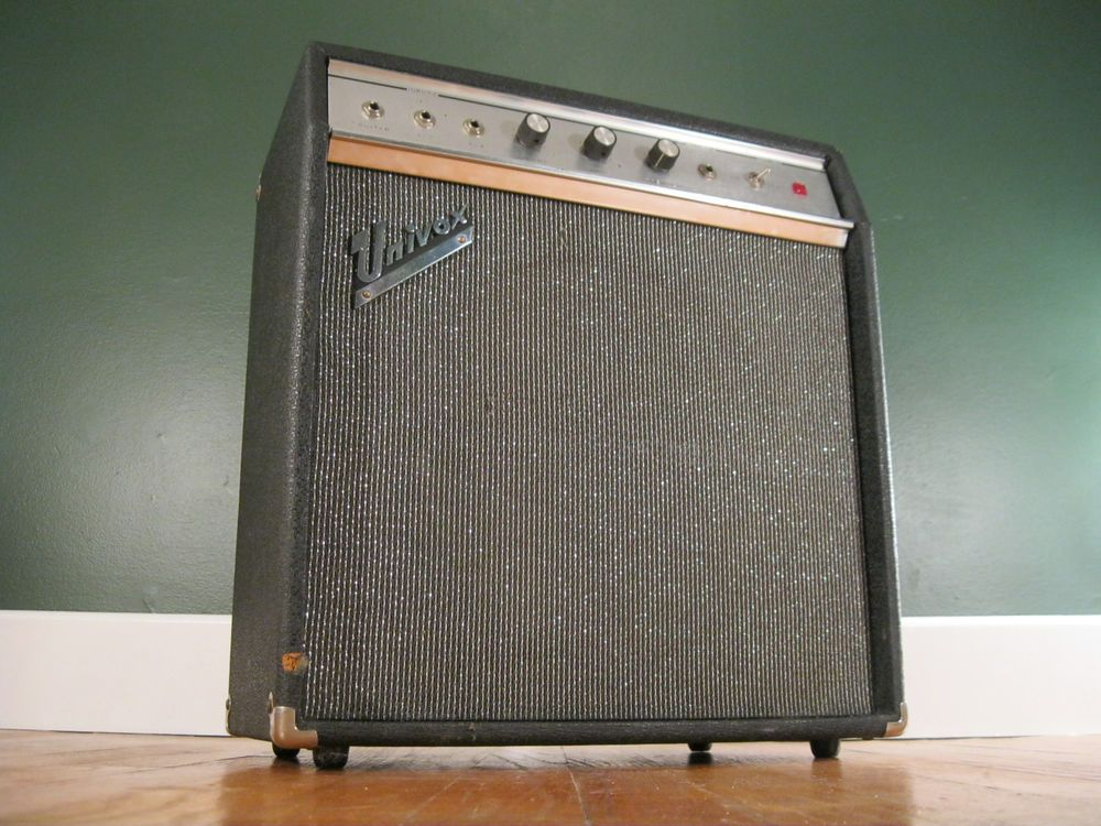 Univox U 45B Guitar Amplifier 60's Vintage Amp U45B Lafayette Meteor on