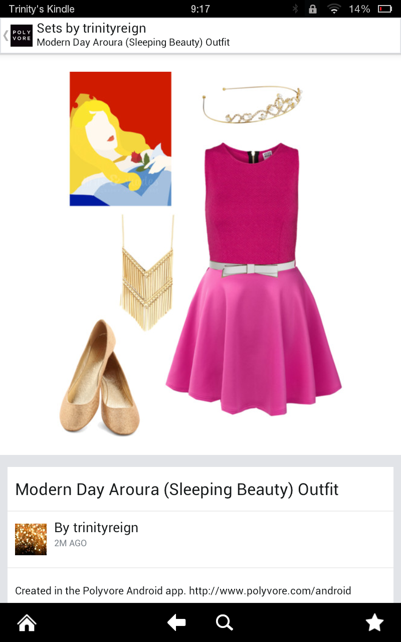 Modern Day Aroura Outfit
