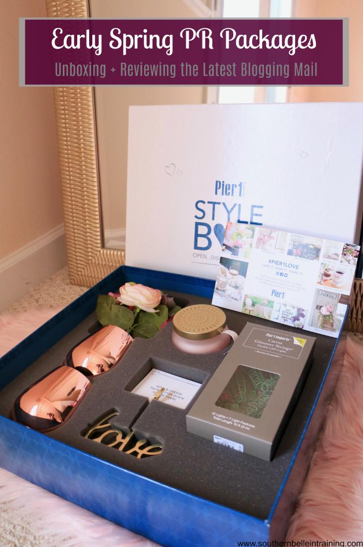 Early Spring Pr Packages Review Packaging Pr Kit Premium Packaging