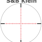 Schmidt And Bender Klein Scope Reticle Tactical Scopes Tactical Scopes
