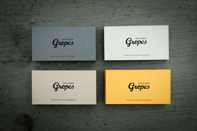 Gropes With Images Business Card Branding Business Card