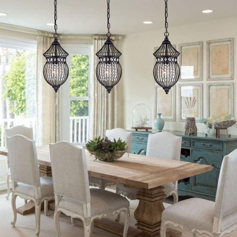 Black Chandeliers Crystal Chandelier Lighting Farmhouse Lighting