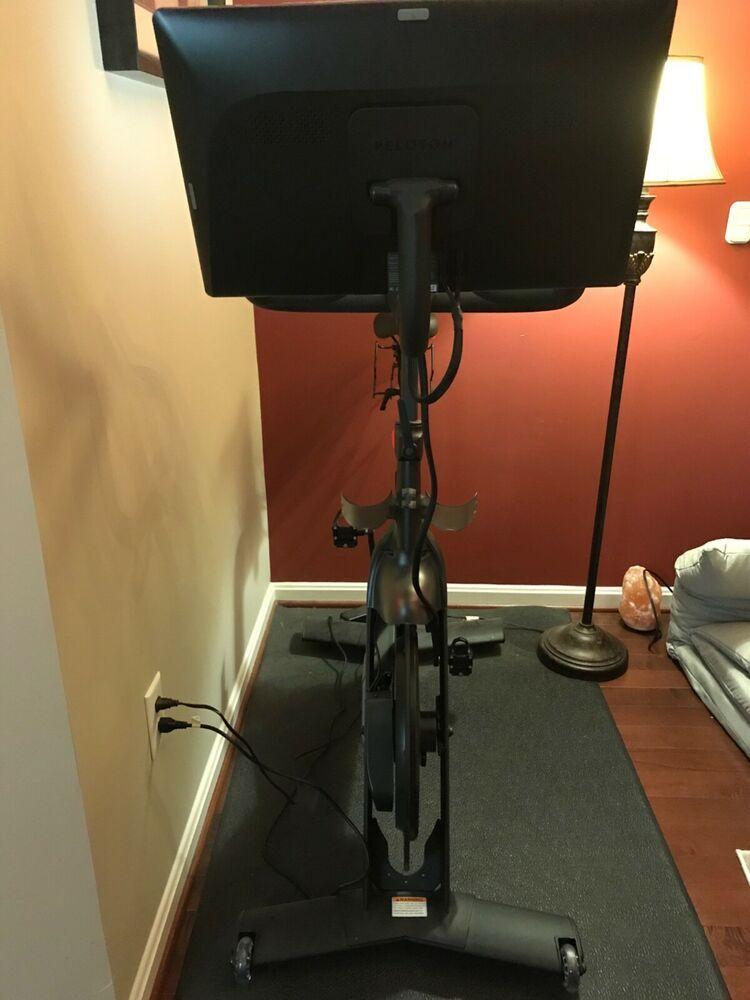 Ad Ebay Peloton Exercise Bike Used Less Than 50 Rides