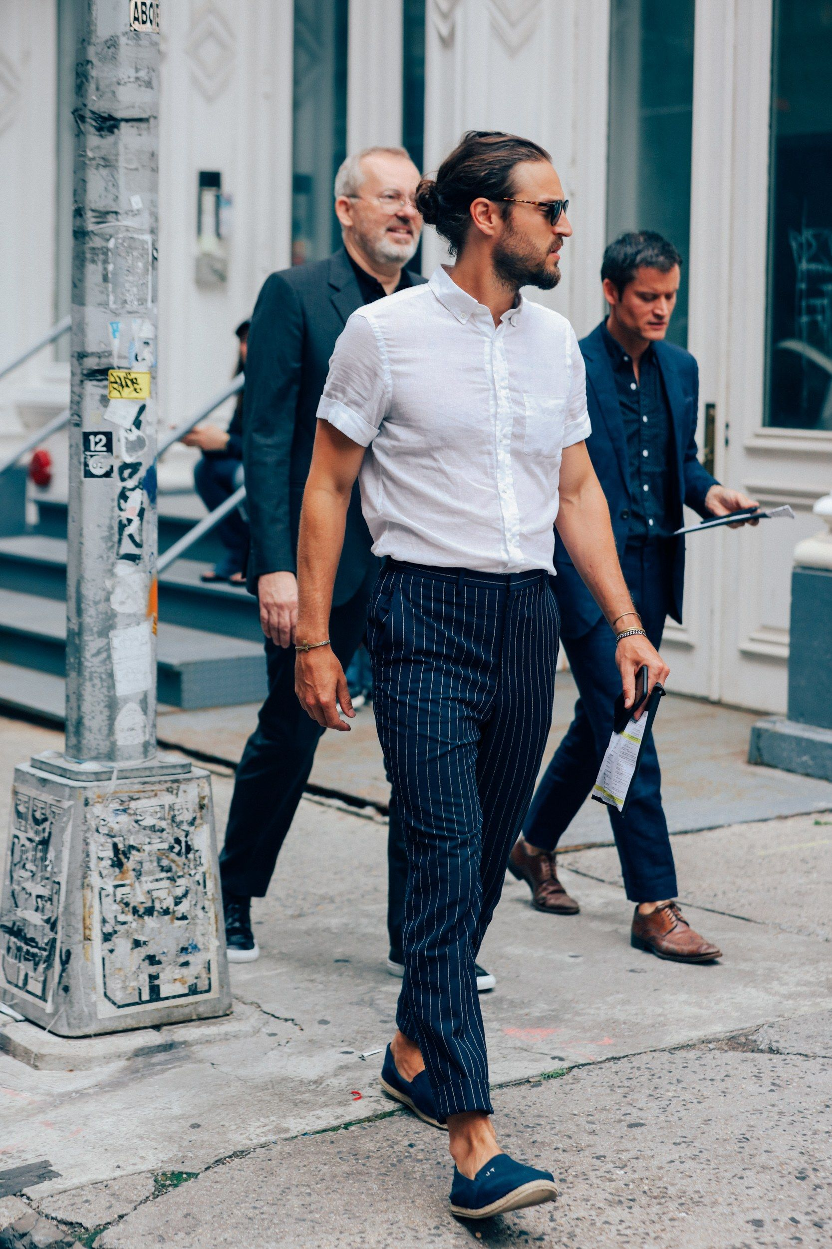 All the best street style from new york fashion week gq fashion