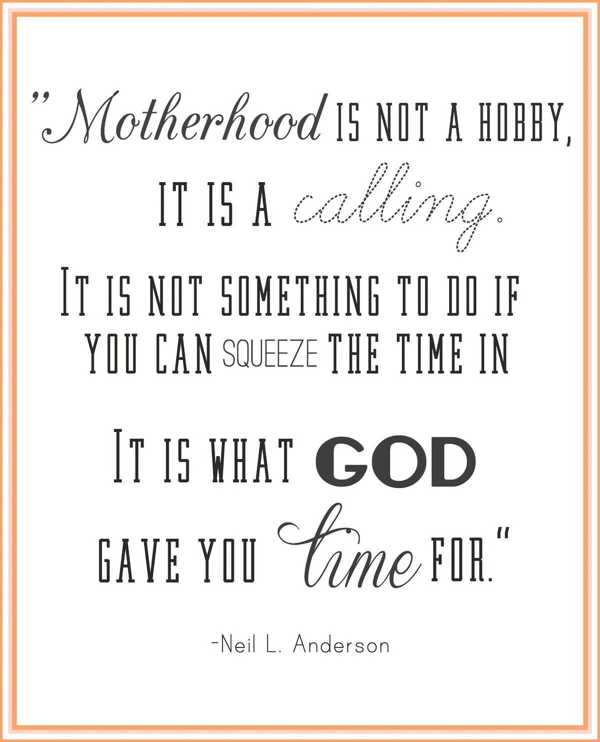 I Have Seen One To Many Young Mothers Put Other Thing And People