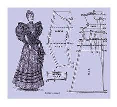 Risultati immagini per dress cutting patterns