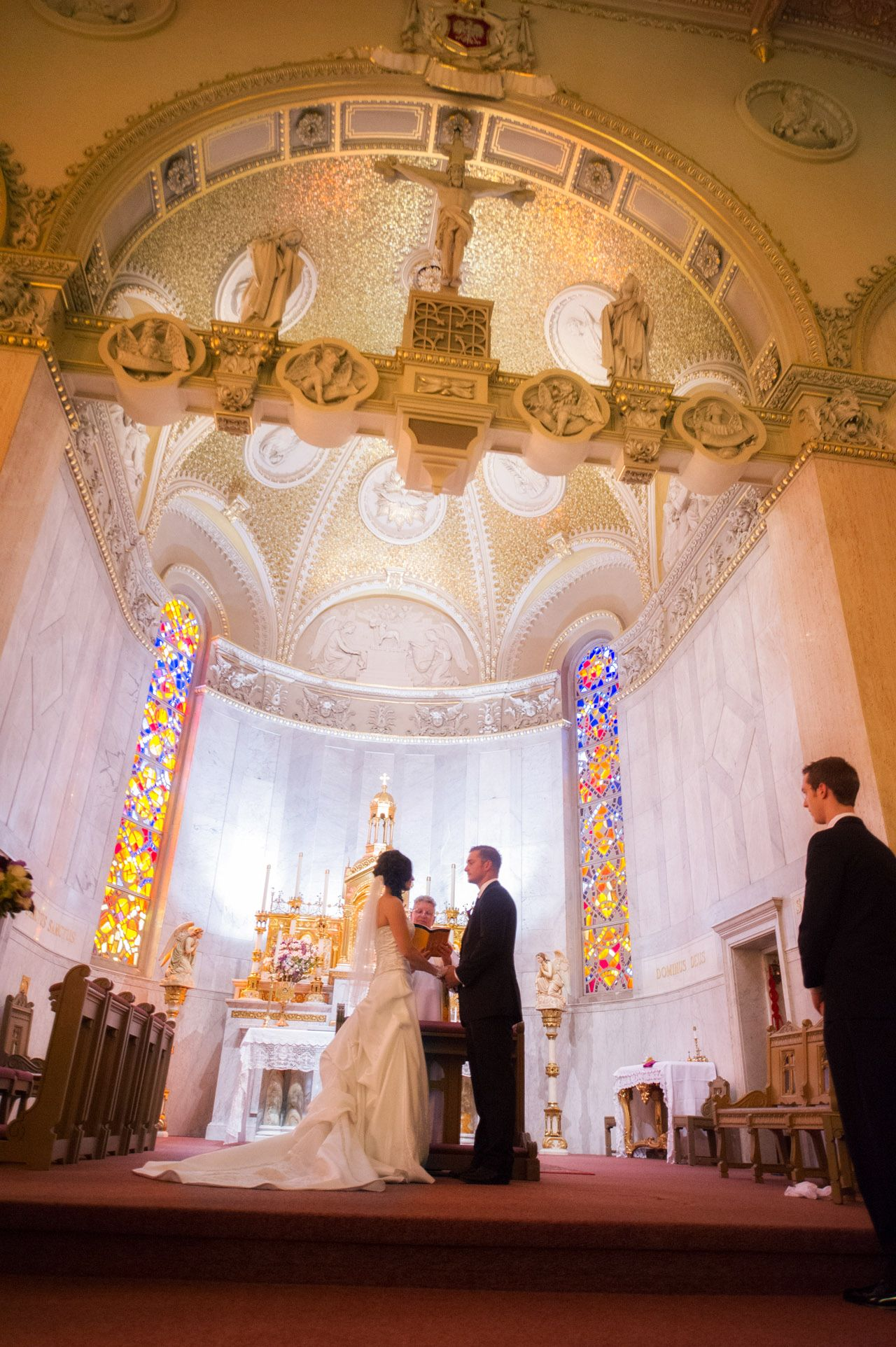 Milwaukee Ceremony At St Stanislaus Photo By Dennis Felber