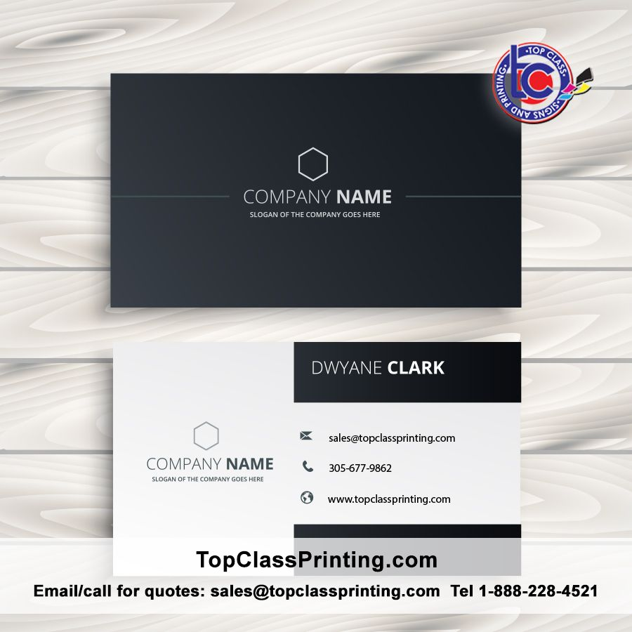 We offer over 25 business cards paper stocks so you can express your ...