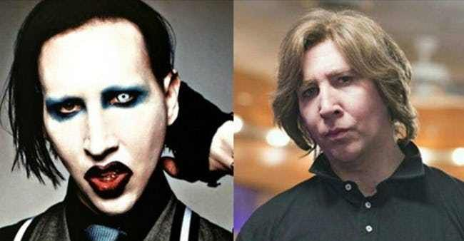 Photo of 18 male celebrities wearing makeup without makeup