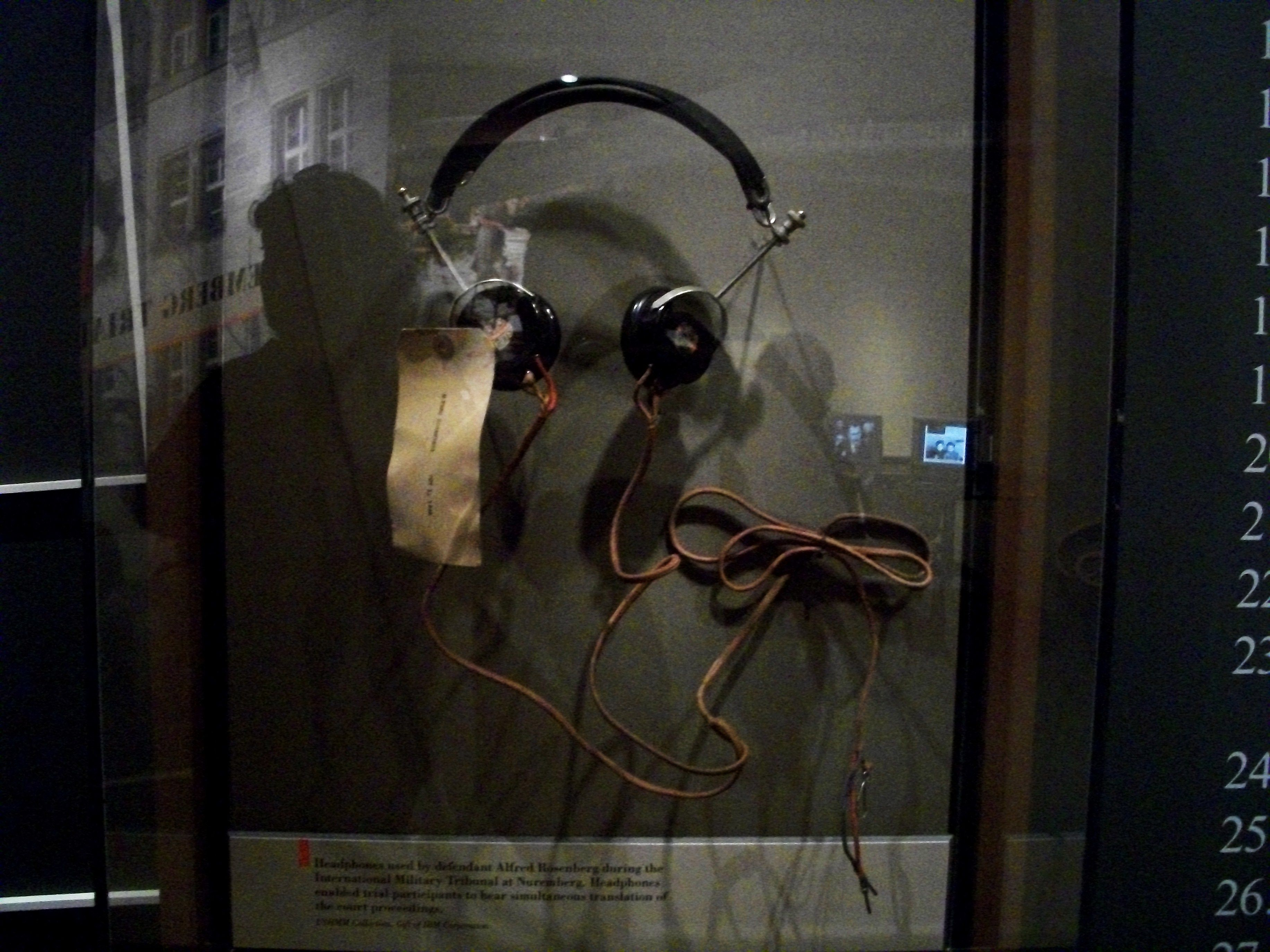 best images about hcc~nuremberg trials military tribunals on headphones used by defendant alfred rosenberg during the international military tribunal at nuremberg headphones enabled