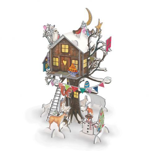 Roger La Borde Tree House Advent Calendar | Christmas advent calendar, Christmas advent, Buy ...