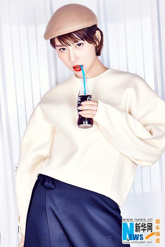 Jia Qing poses for fashion magazine | China Entertainment News