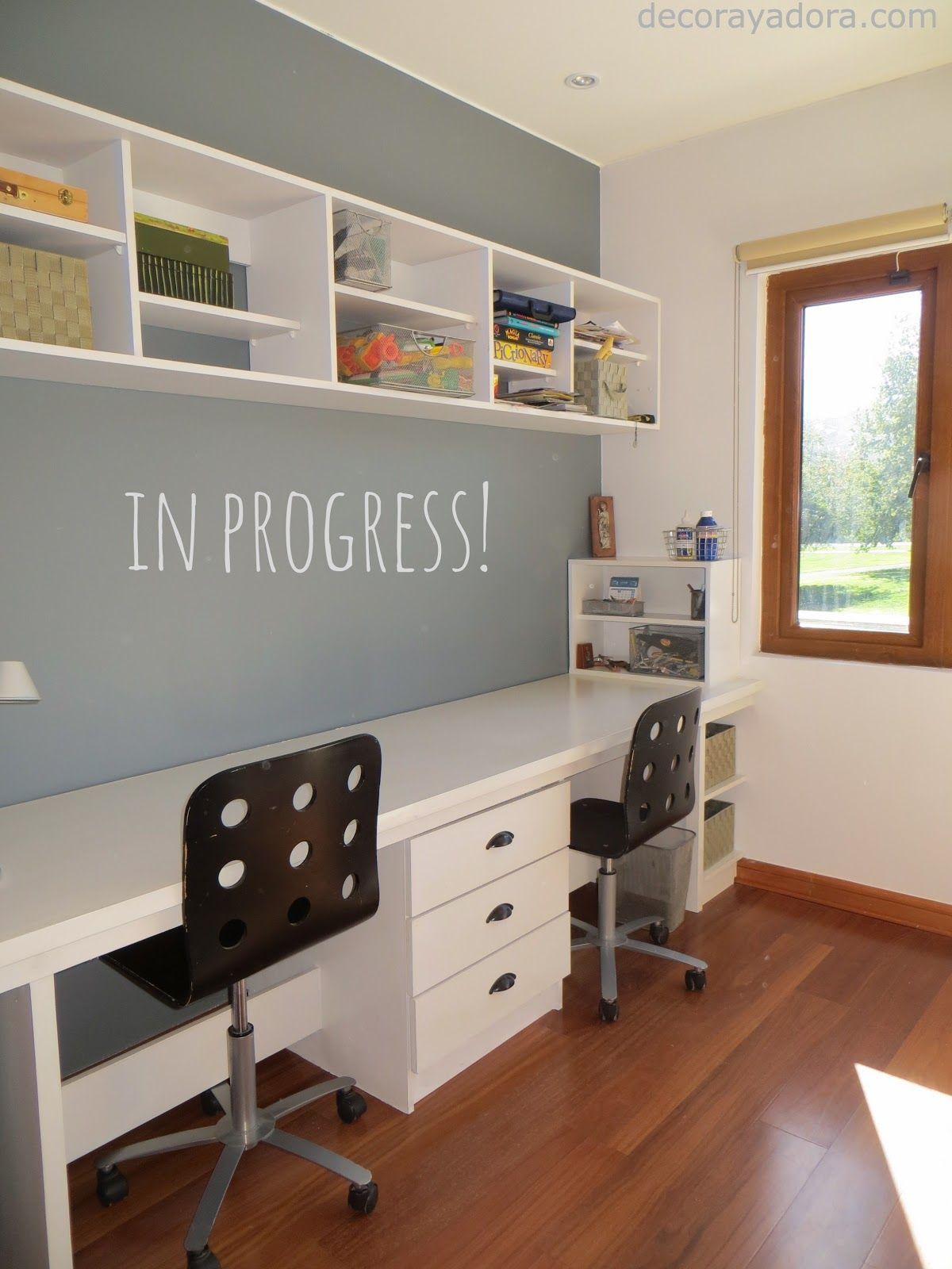 decora y adora: DIY mueble dormitorio niños   Libreros   Pinterest ...