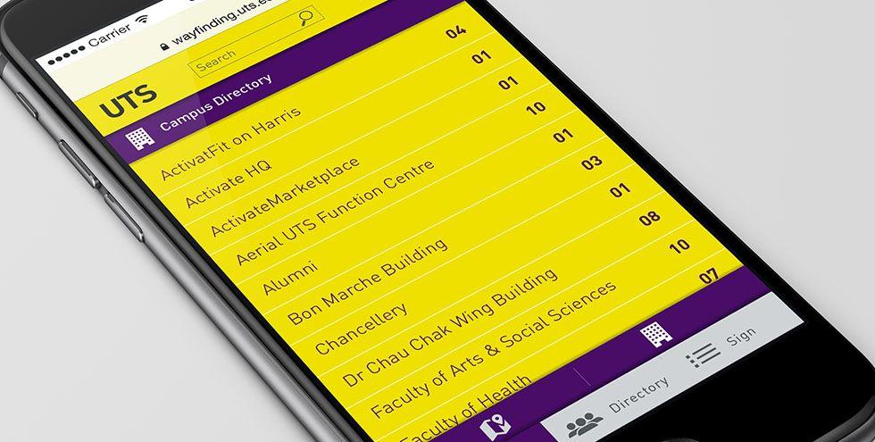 BrandCulture | UTS | Digital Wayfinding App