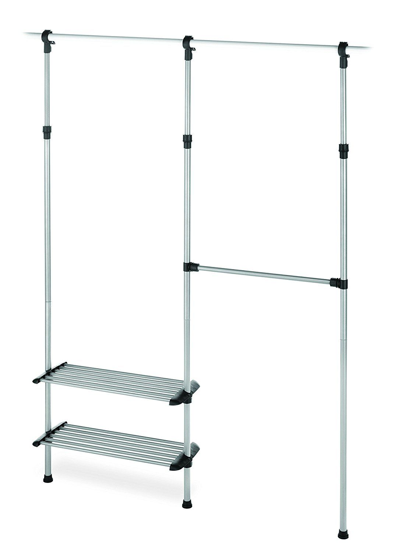 Amazon.com: Whitmor Closet Rod System, Silver: Storage