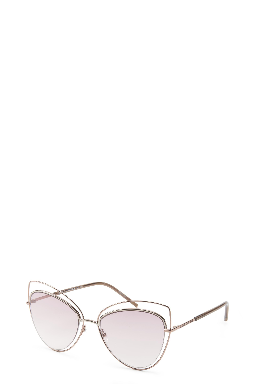 The Marc Jacobs Clear Cat Eye Sunglasses feature a nylon fiber
