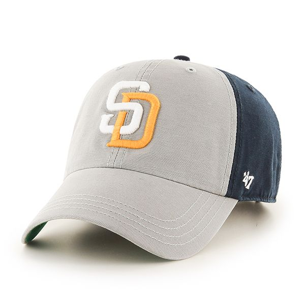 38bd55f8381bb San Diego Padres Flagstaff Clean Up Navy 47 Brand Adjustable Hat ...