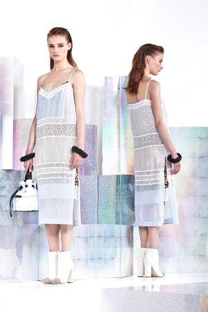 Just Cavalli Resort 2014 Silk Dress