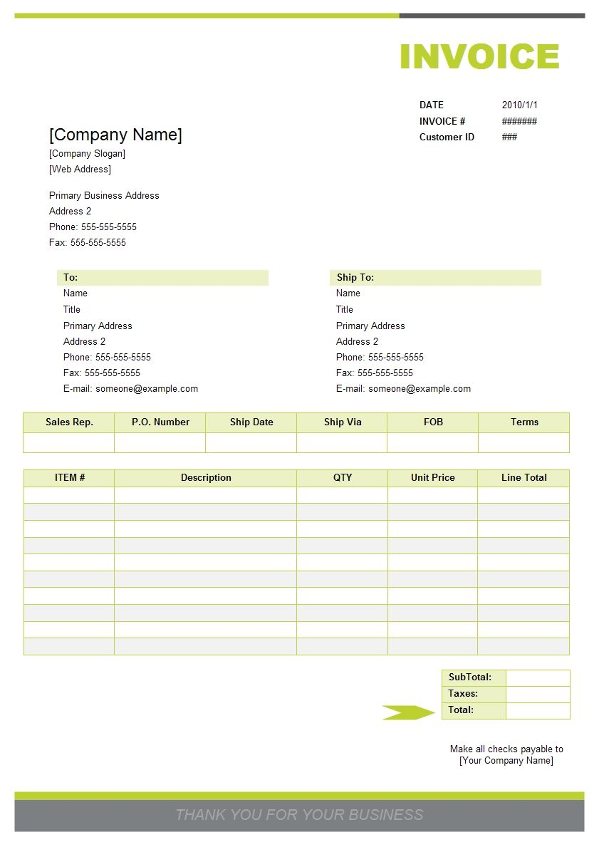 Invoice Is Widely Used In All Walks Of Life It Is An Itemized Bill For Goods Sold Or Services Provided Invoice Example Invoice Template Invoice Template Word