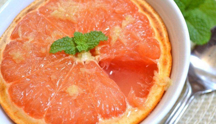 Десерт из грейпфрута для похудения