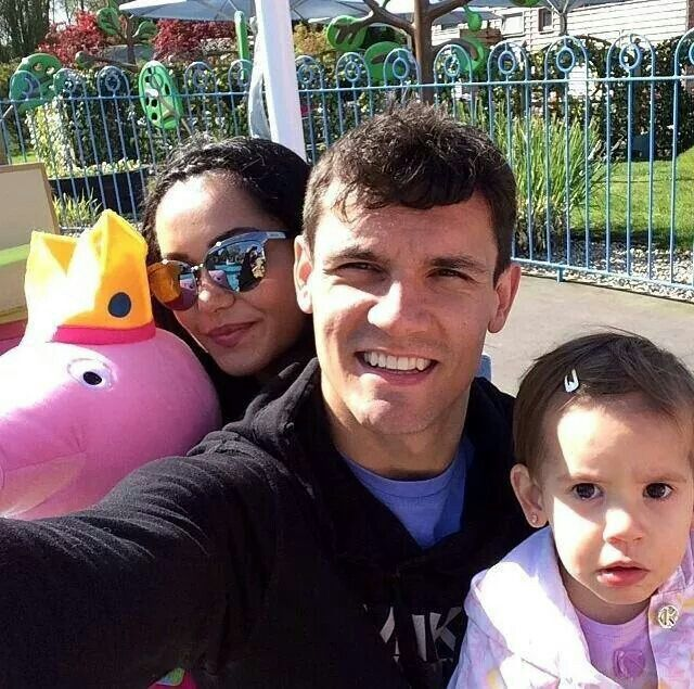 Picture of Dejan Lovren Daughter, called Elena