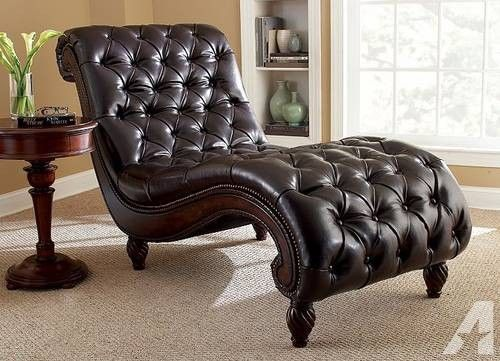 premium brown coco chocobrown leather mieschaise chaise clearance mies kardiel