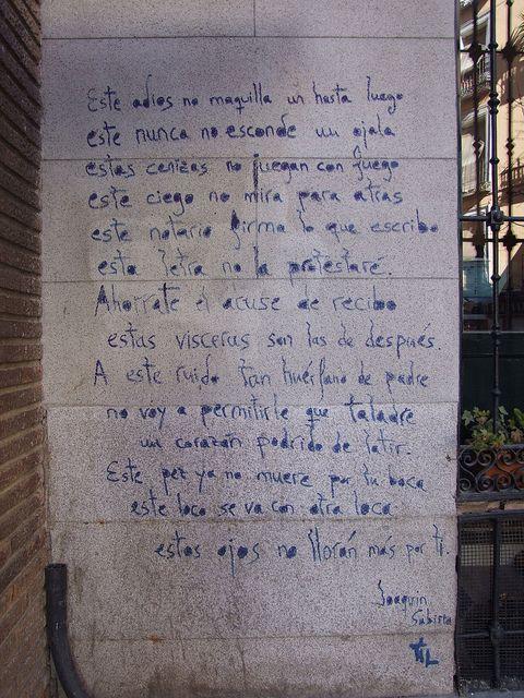 Poema Defensa De La Alegria Mario Benedetti Este Adios No Maquilla Un Hasta Luego Joaquin Sabina Poemas Y