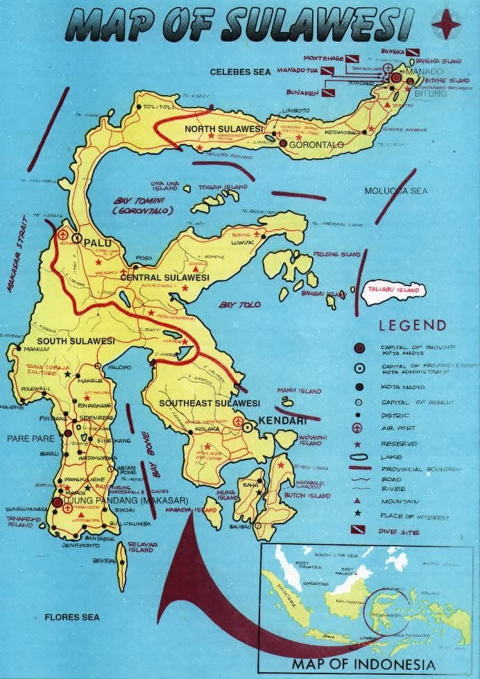 Peta Pulau Sulawesi | Berita 2015 | Website, Saved items