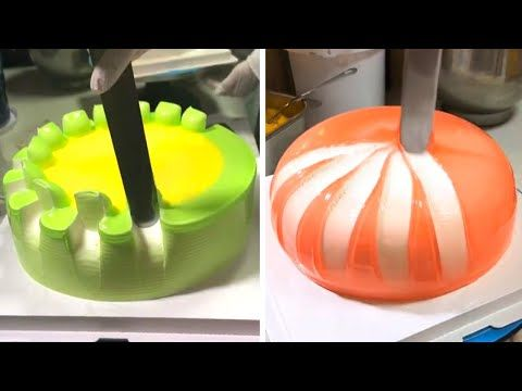 Most Satisfying Chocolate Cake Video | Easy Cake Decorating Ideas | Perfect Cake Decorating
