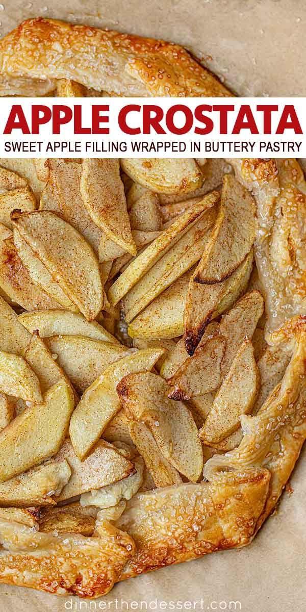 Apple Crostata (Apple Pie with half the work!) - D