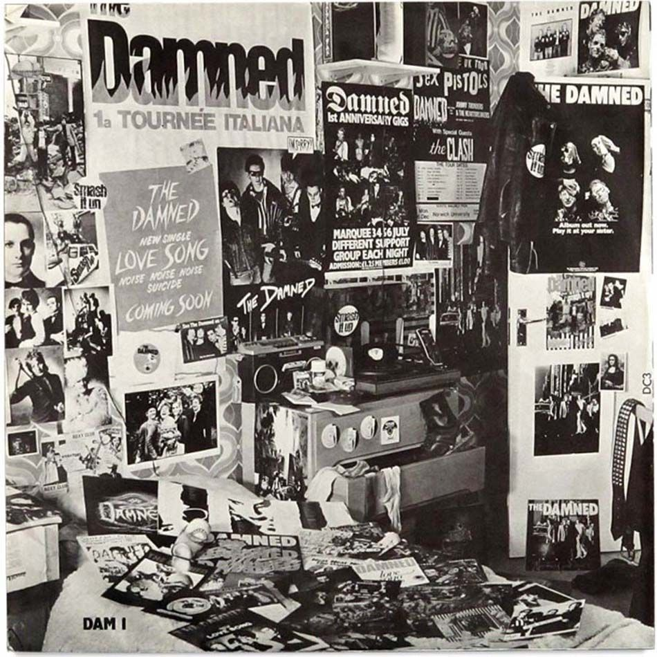 The damned best of the damned inner sleeve dave vanian the explore anarchy punk and more fandeluxe Image collections