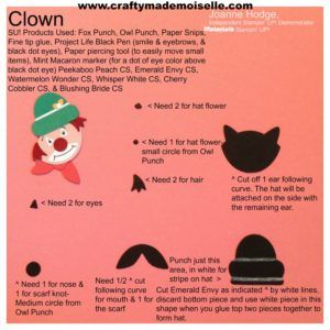How to create a Clown with the Fox & Owl builder punches -