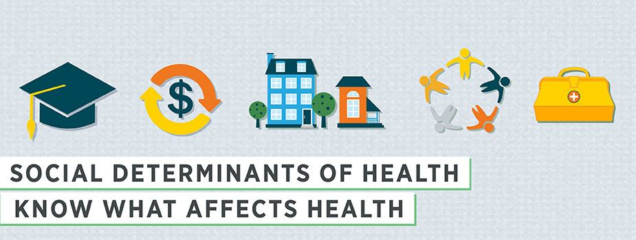 Social Determinants of Health Main Banner Social
