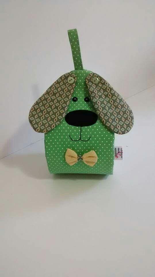 Porta papel higiênico cachorro | porta papel higienico | Pinterest ...