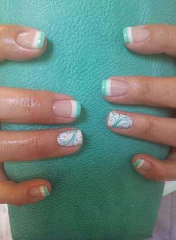 33 ideas nails design gel polish summer 2015 nails