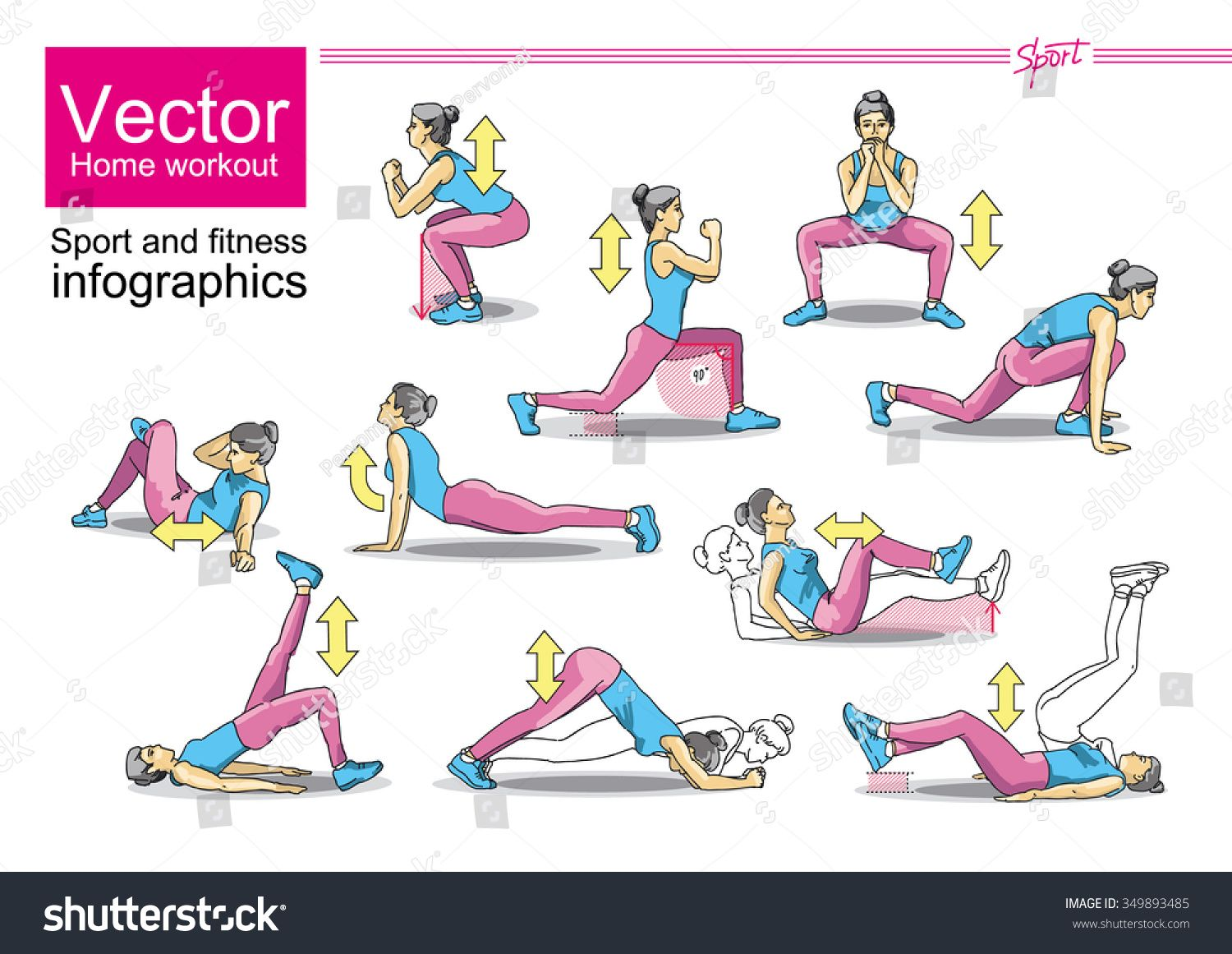 Weight loss exercises for home   Sport and Exercise/Weight Loss ...