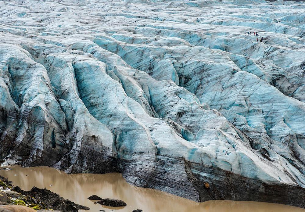 Svinasfelljokull glacier