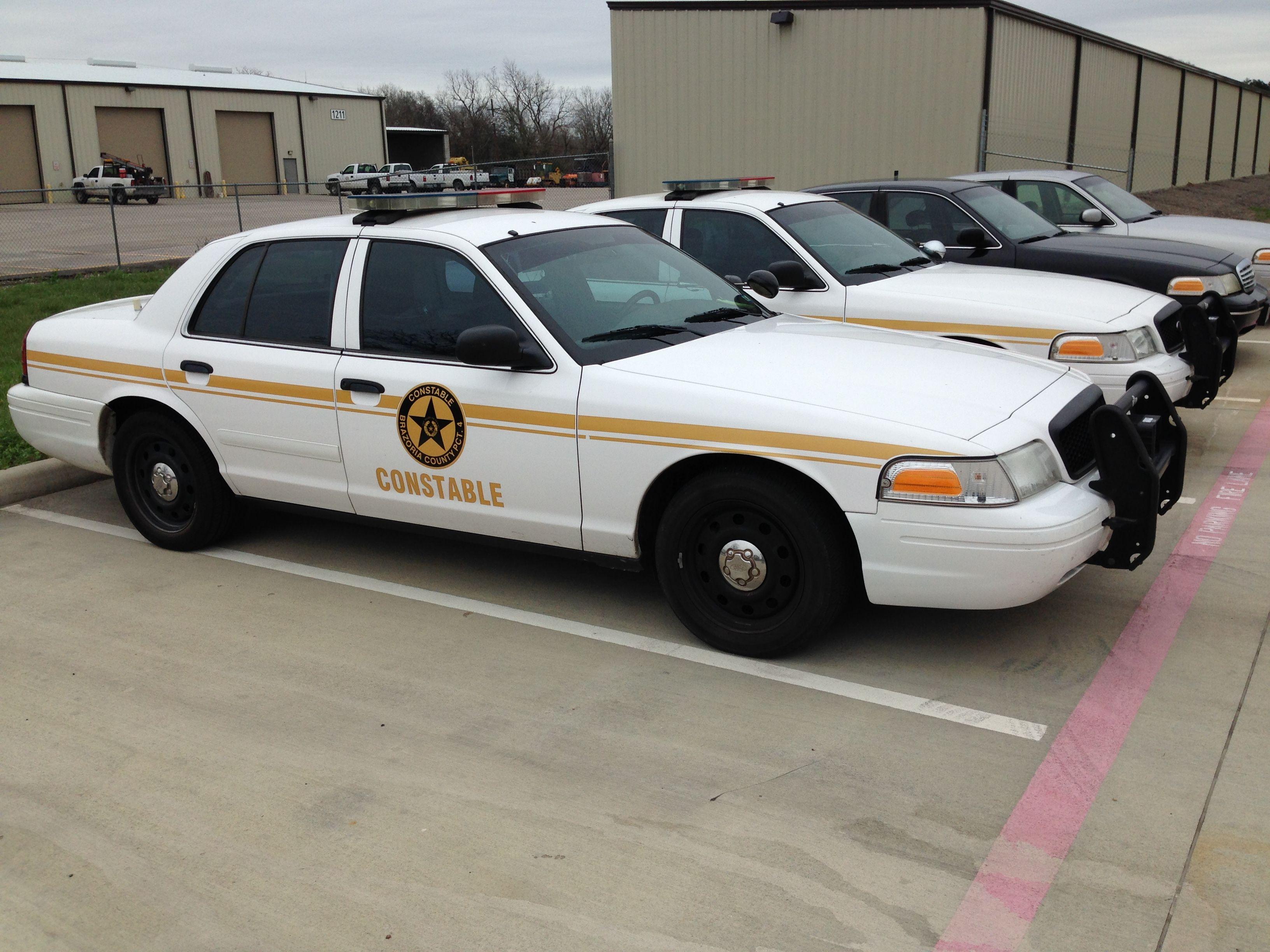 Brazoria County Precinct 4 Constable Ford Crown Victoria Texas Police Cars Victoria Police Us Police Car