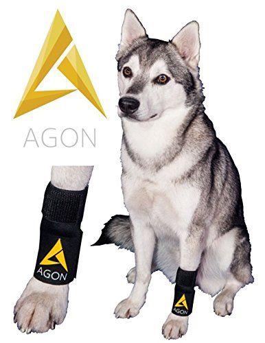 Amazon Com Agon Dog Canine Brace Paw Compression Wrap With 3