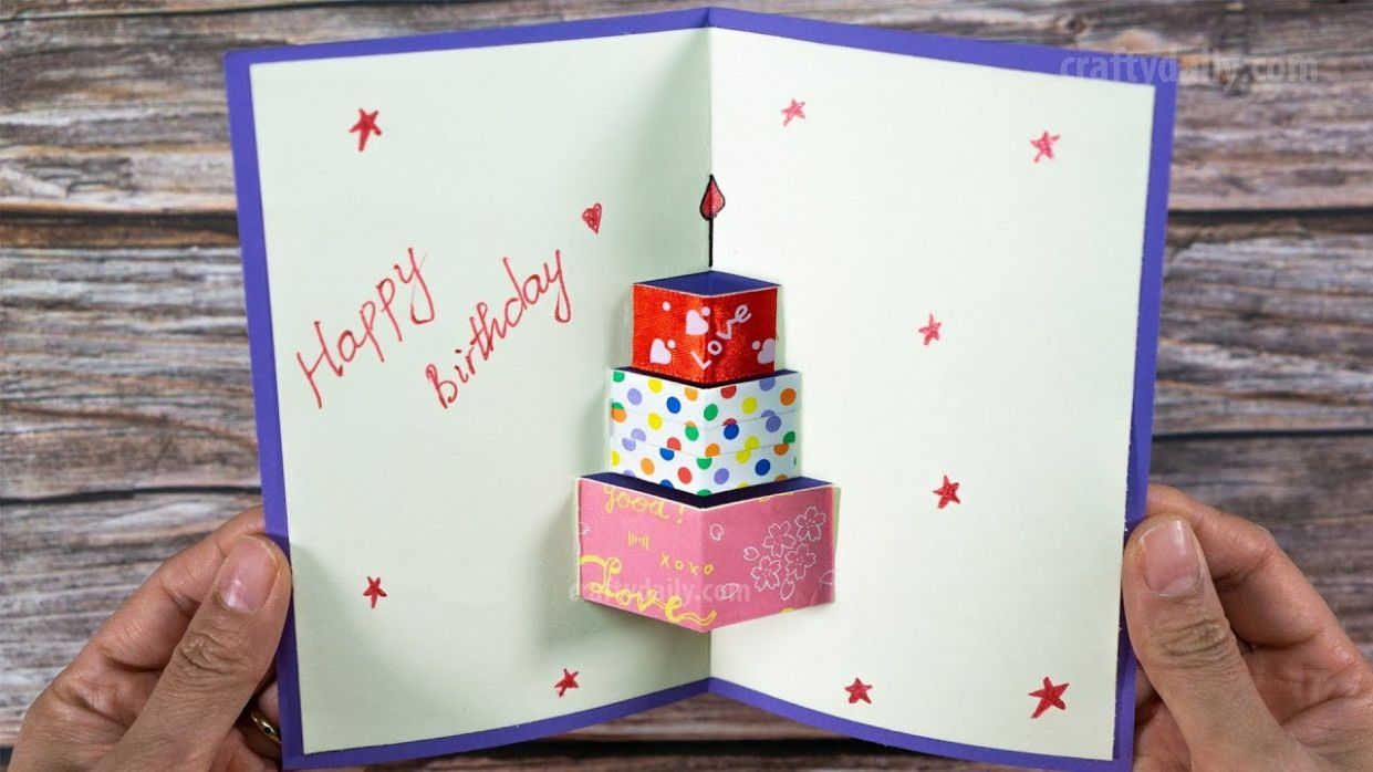 19 Ideas Birthday Card Kaise Banate Hai Di 2020