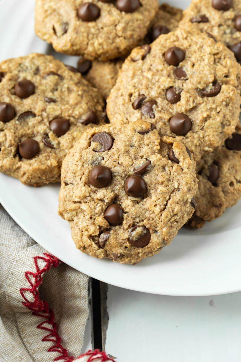 Vegan Oatmeal Chocolate Chip Cookies Gluten Free Recipe Chocolate Chip Oatmeal Chocolate Chip Cookies Vegan Oatmeal