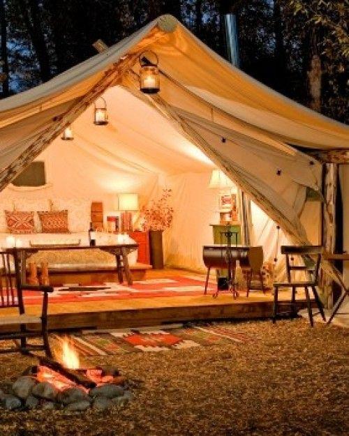 Fireside Resort (Wilson, WY | travel ideas | Luxury tents