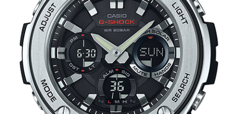 How To Set Time On Casio G Shock Gst S100 5445 G Shock Casio G Shock Shock