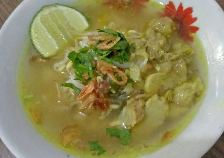 Resep Soto Bening Solo Oleh Ninith Resep Makanan Makanan Dan Minuman Resep