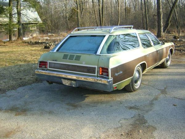 1971 Chevrolet Kingswood Estate With Disappearing Rear Door