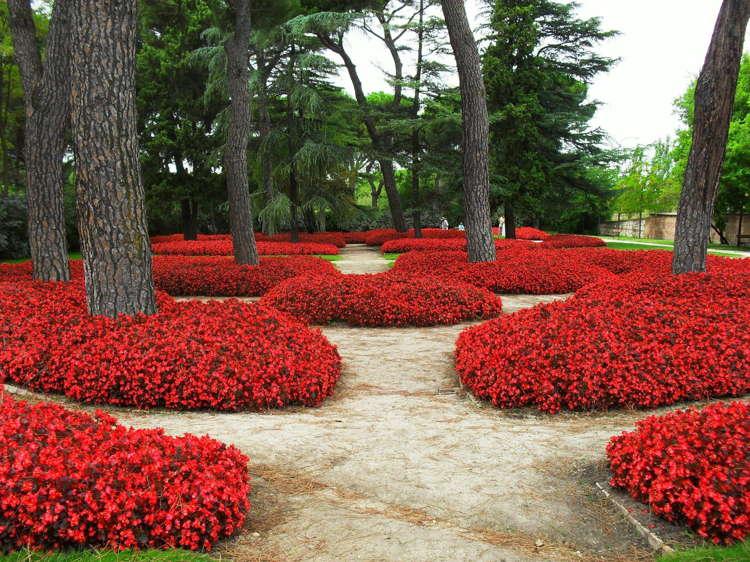 Parque del Capricho. Madrid. HD-3D. Arte y Jardinería Diseño de ...