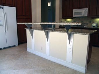 Have You Heard Of Floating Countertop Support Brackets