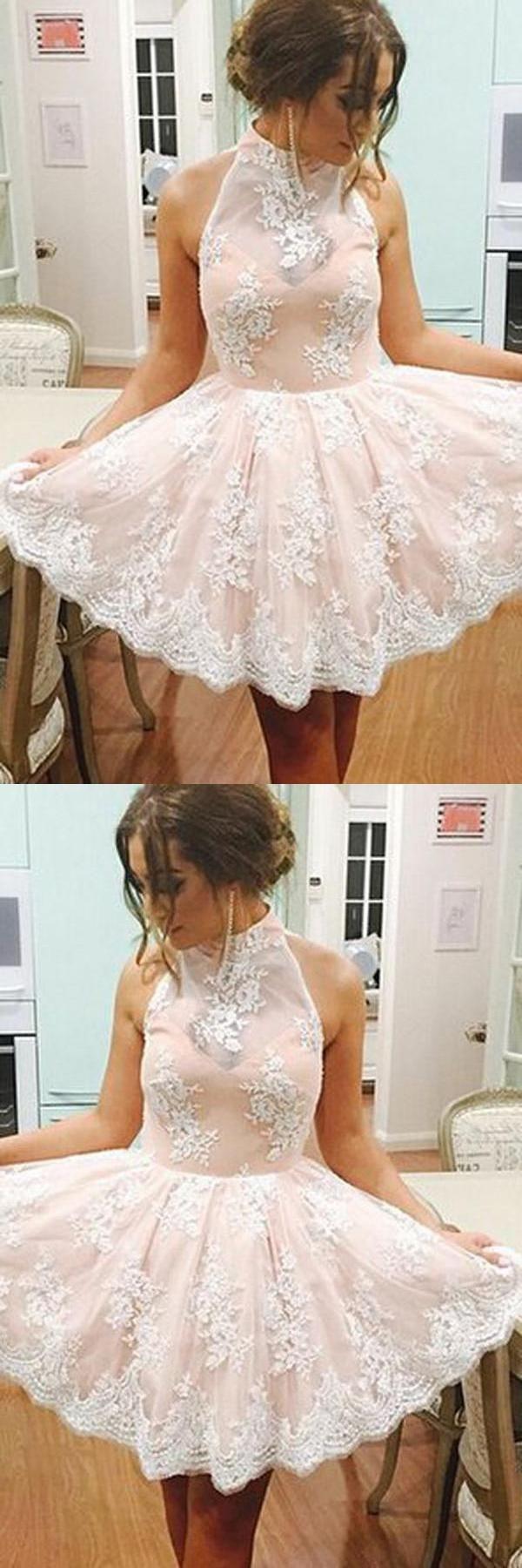 White white lace sleeveless lace simi short homecoming