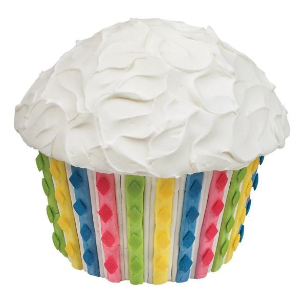 Cake Decorating Striped Icing : Stunning Stripes Cake - Piped-icing stripes topped with ...