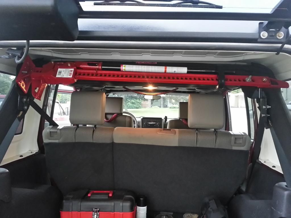Where To Mount The Hi Lift Jack Jeep Interior Jeep
